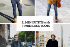 21 Fall And Winter Outfits With Timberland Boots For Men