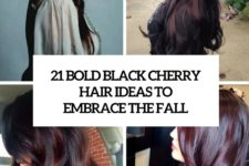21 bold black cherry hair ideas to embrace the fall cover
