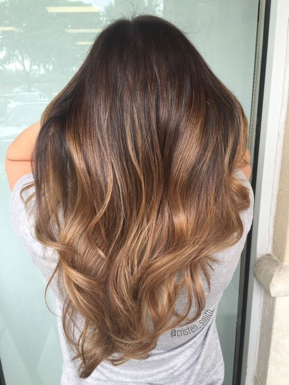 Chocolate Brown Hair With Caramel Highlights  Hairstyle Tips