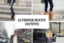 23 Adorable Fringe Boots Outfits For Fashionistas