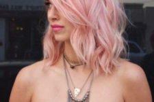 23 balayage pink shades hair