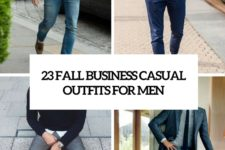 23 fall business casual outfits for men cover