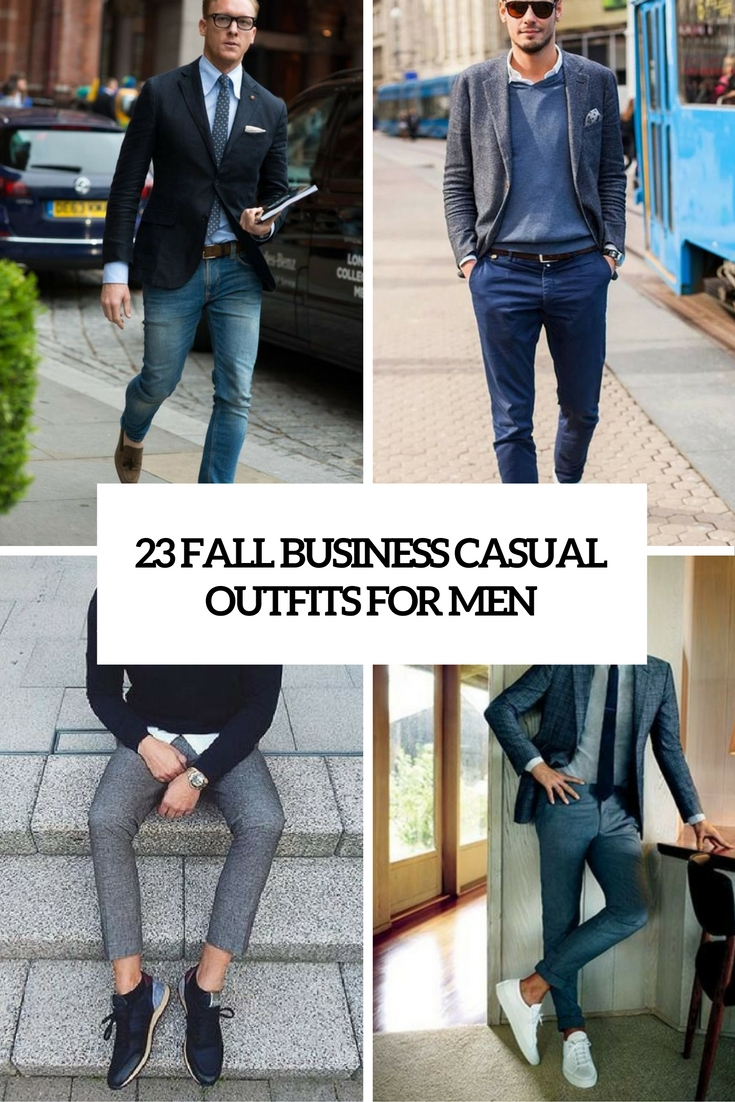 23704ddf67c fall business casual outfits for men cover. Business casual is a way to dress  in ...
