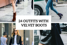 24 Awesome Outfits With Velvet Boots