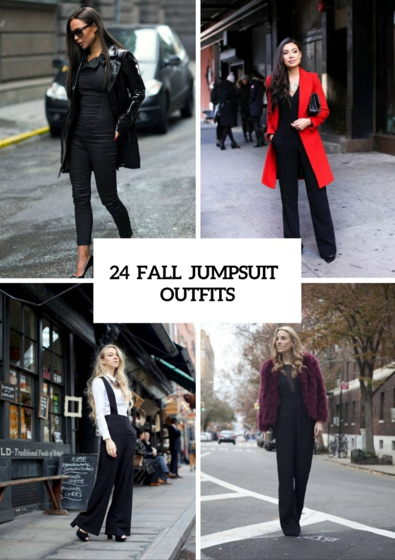24 Ideas To Wear Jumpsuits In The Fall