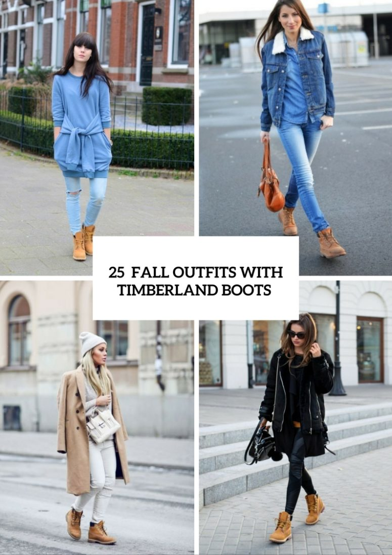 25 Excellent Fall Outfits With Timberland Boots For Girls