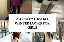 25 comfy casual winter looks for girls cover