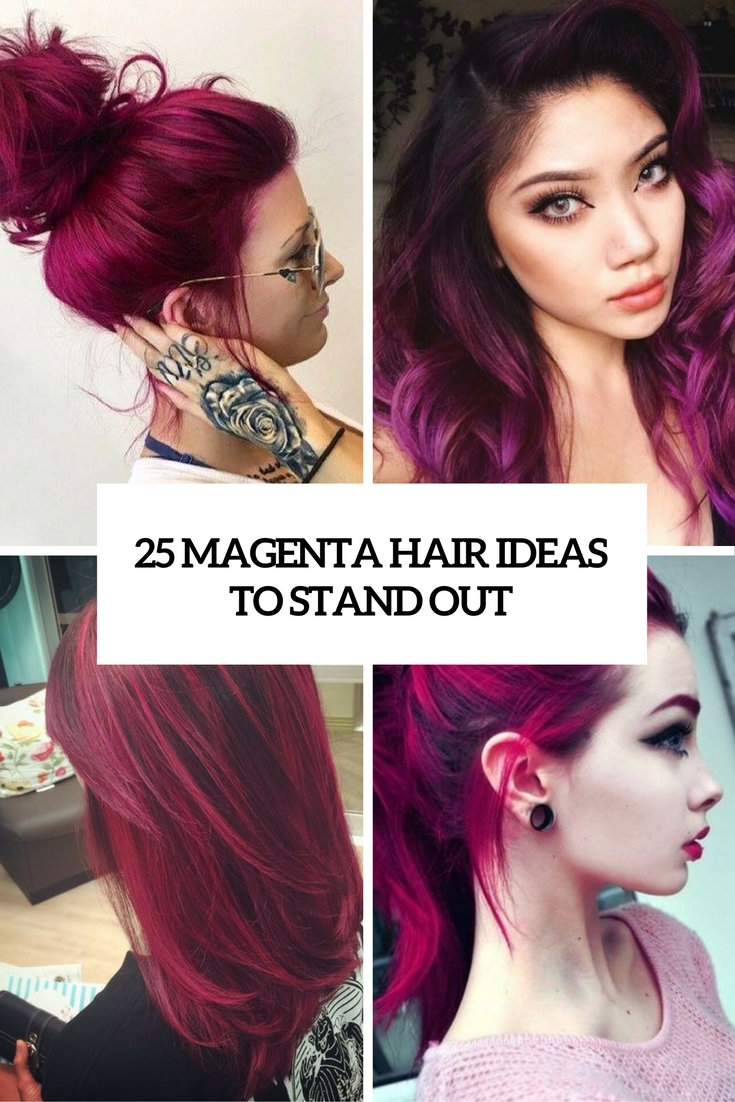 magenta hair ideas to stand out cover