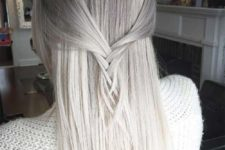 25 ombre grey hair from grey to white looks subtle