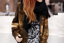 25 red copper hair with caramel ombre hair