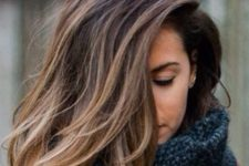 26 ombre brown hair from darker to lighter shades