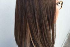 28 ombre brown hair, deep brown to light