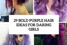 29 bold purple hair ideas for daring girls cover