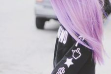 29 ombre imperial purple hair