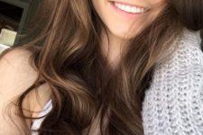 31 sun-kissed brown hair