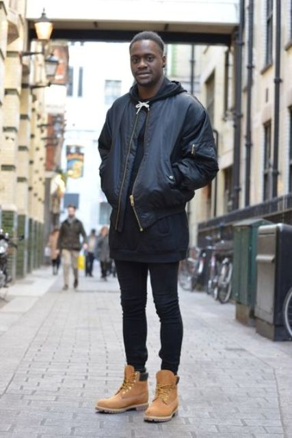 21 Fall And Winter Outfits With Timberland Boots For Men ...