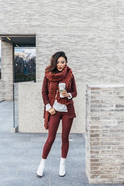 22 feminine ideas with white boots styleoholic