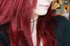02 beautiful long red hair