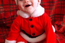 06 dress him like a Santa Claus for fun