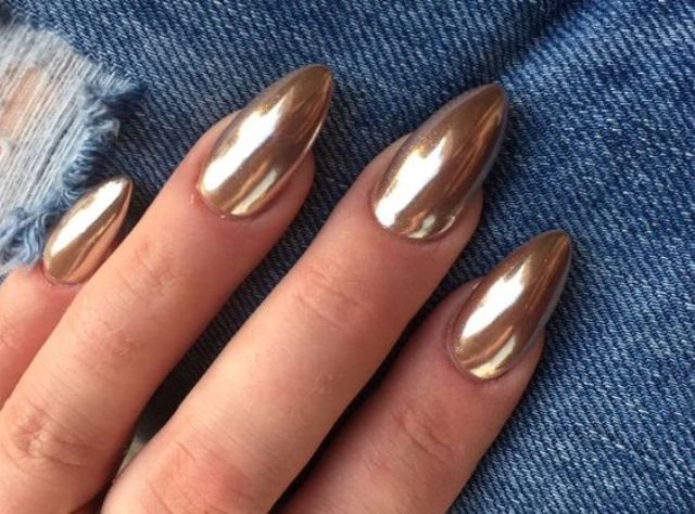 25 edgy metallic nails ideas to shine bright   styleoholic