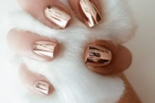 10 stylish copper nails fit any outfit