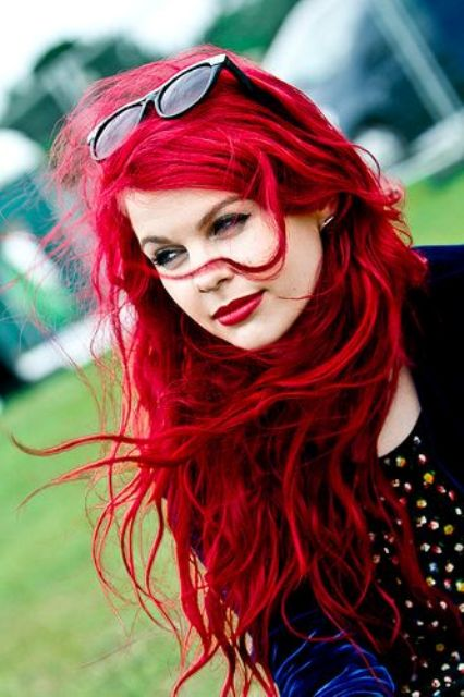 26 Bright Red Hair Ideas To Make A Statement Styleoholic