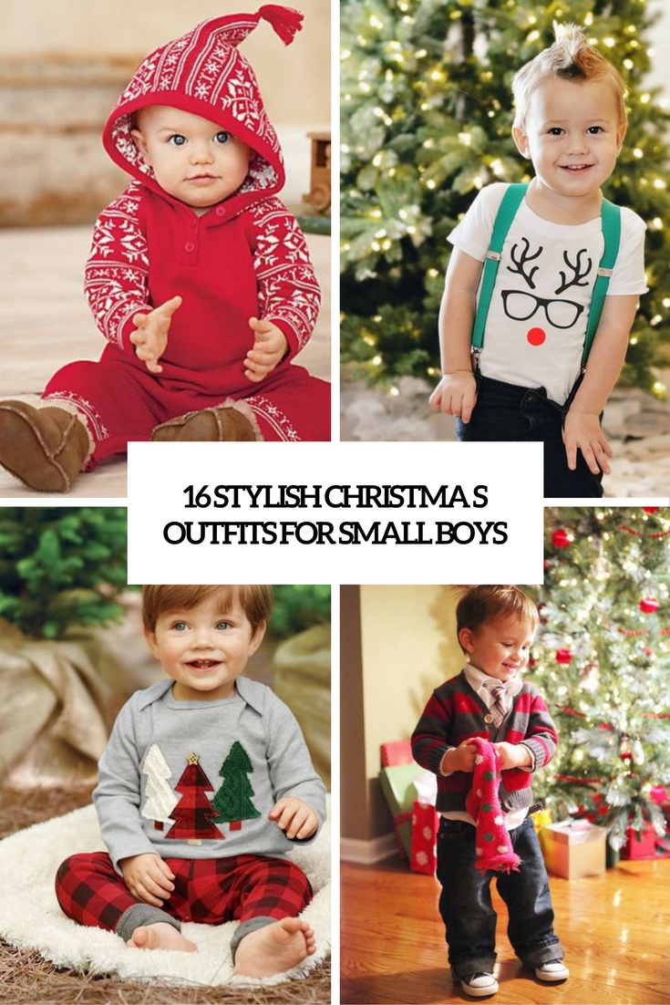 16 Stylish Christmas Outfits For Small Boys