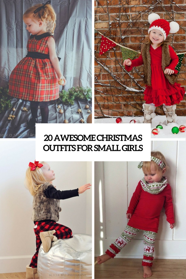 awesome christmas outfits for small girls cover