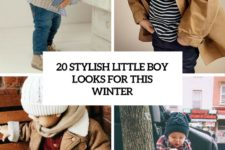 20 stylish little boy looks for this winter cover