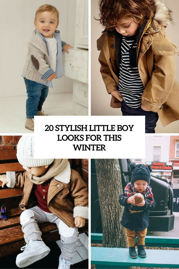 20 Stylish Little Boy Looks For This Winter