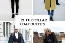21 Elegant Fur Collar Coat Outfits For Men
