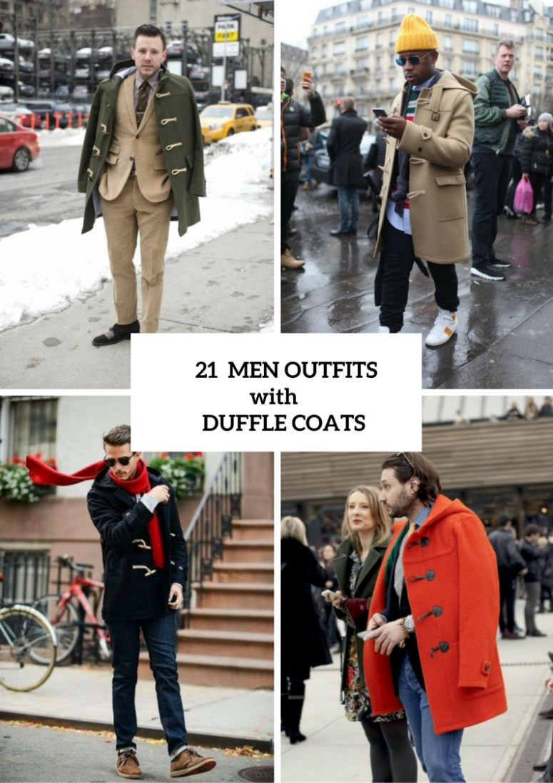 21 Excellent Duffle Coat Outfits For Men