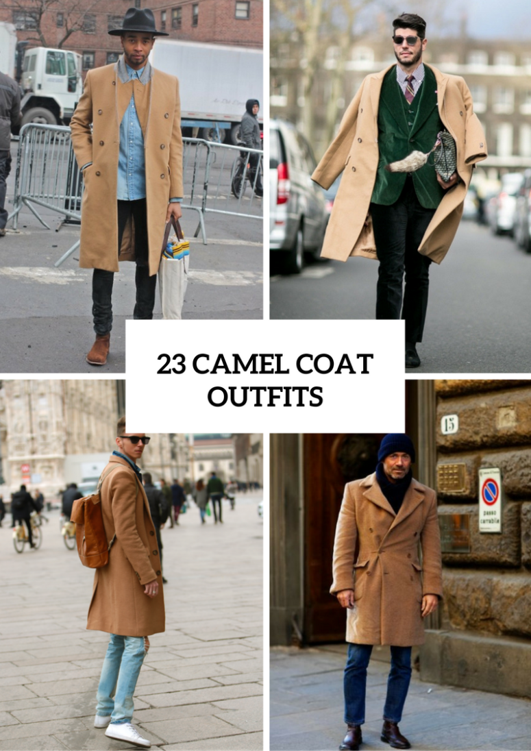 23 Chic Camel Coat Outfit Ideas For Men