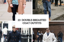 23 Winter Double-Breasted Coat Outfits For Men
