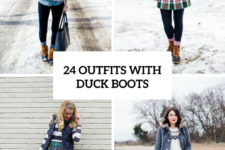 24 Winter Outfits With Duck Boots