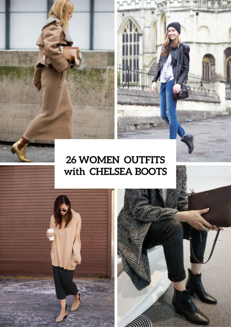 Stunning Outfits With Chelsea Boots For Fashionable Ladies