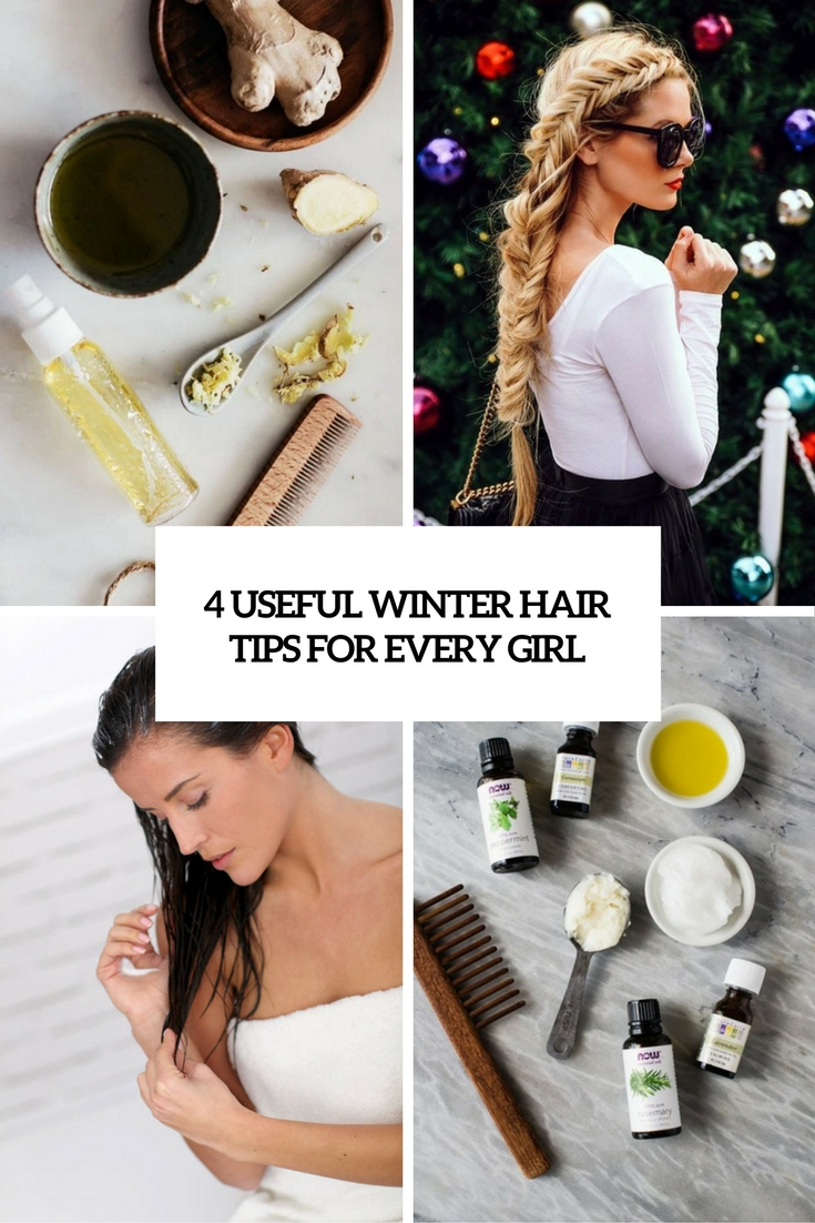 4 Useful Winter Hair Tips For Every Girl