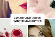 5 smart and useful winter makeup tips cover