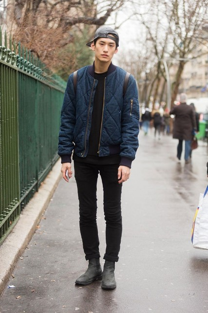 how to wear cuffed jeans mens