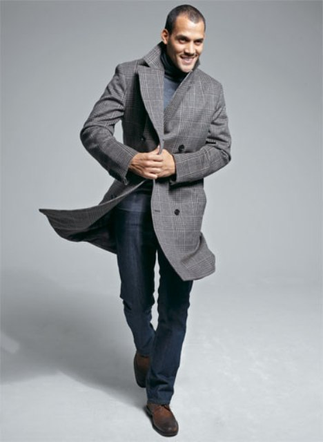25f5fef9 23 Winter Double-Breasted Coat Outfits For Men - Styleoholic