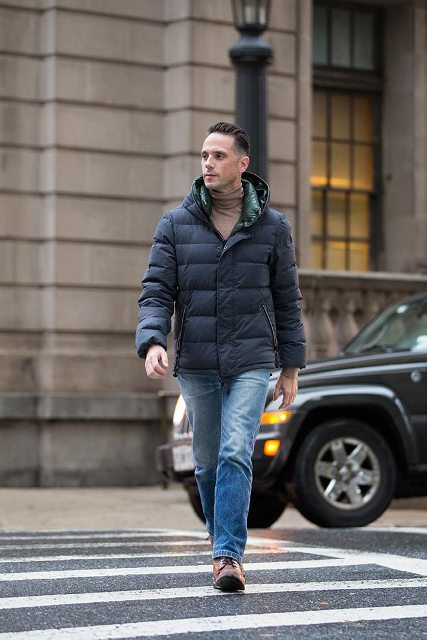 25 Winter Puffer Jacket Outfits For Men Styleoholic