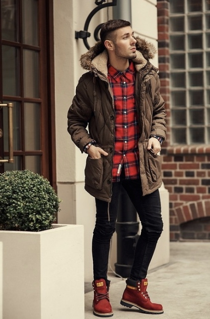 images 24 Winter Outfits With Duck Boots