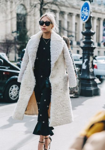 22 Teddy Bear Coat Outfits For Stylish Ladies Styleoholic