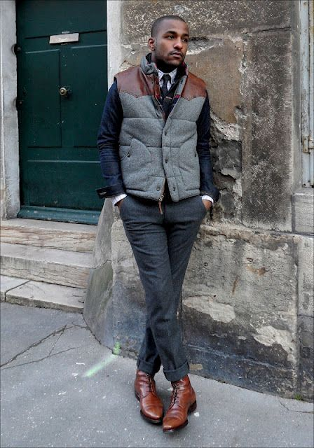 21 puffer vest outfits for men styleoholic