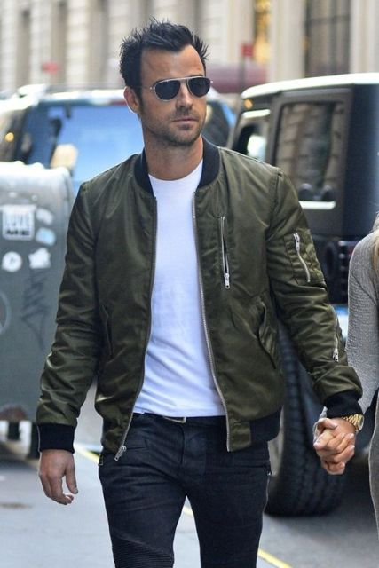 22 Men Outfit Ideas With Bomber Jackets - Styleoholic