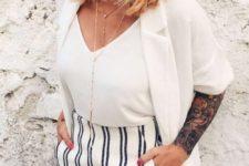 layered bold balayage medium-length hair