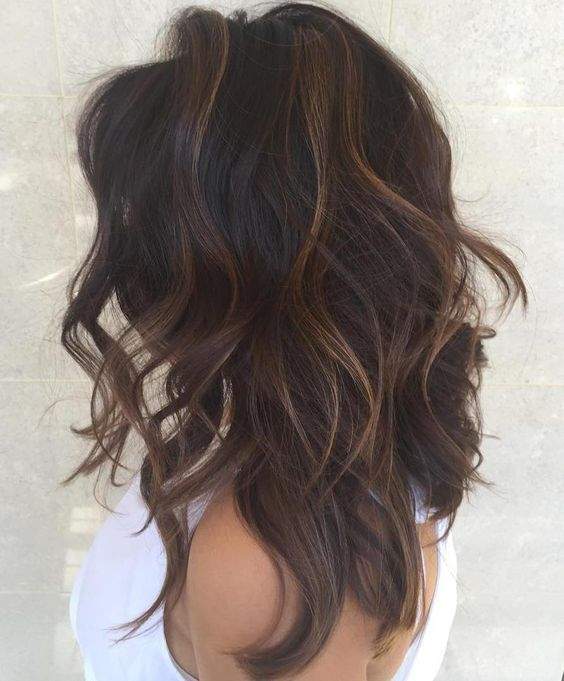 sublte highllights and layers give volume to this hair