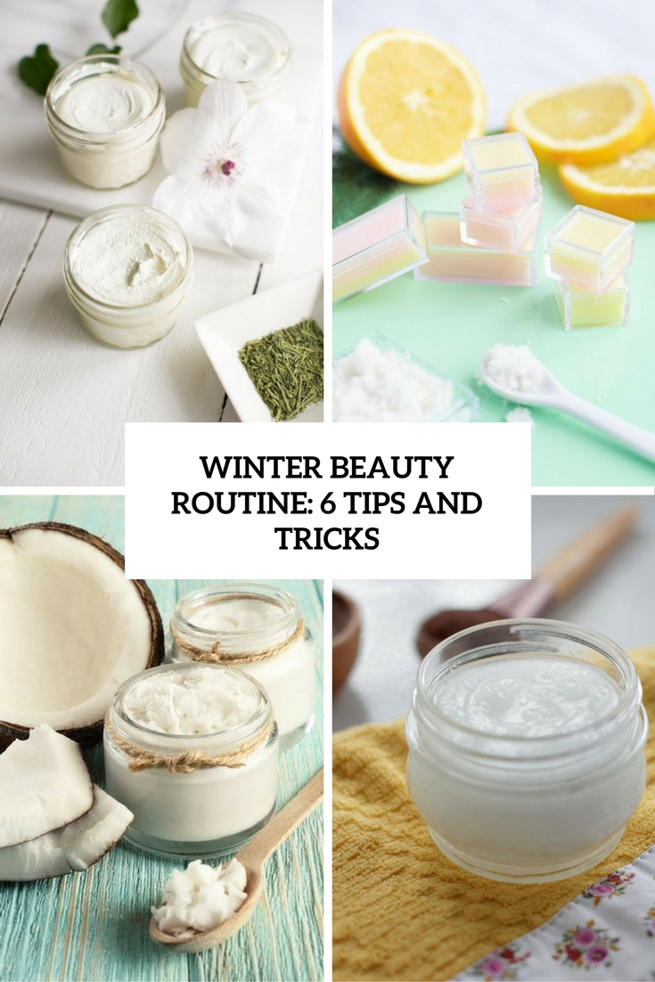 winter beauty routine 6 tips and tricks cover