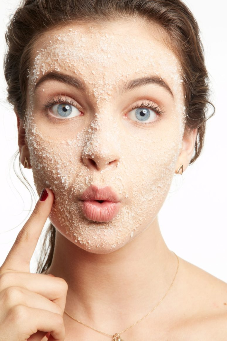 Exfoliate right with proper ingredients and better in the shower