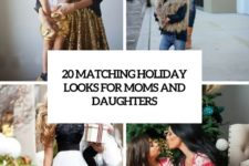 20 matching holiday looks for moms and daughters cover